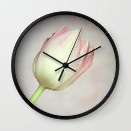 Lovely Tulip Wall Clock