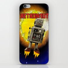 :: RETRONAUT iPhone Skin