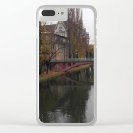 Quiet afternoon Clear iPhone Case