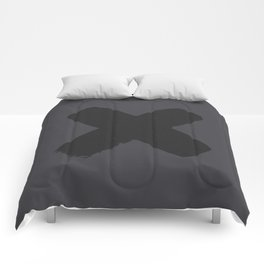 A Black X Comforters