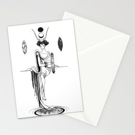 Major Arcana II The High Priestess Stationery Cards