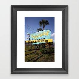 Welcome to Gatorland Framed Art Print