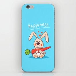 Happy bunny iPhone Skin