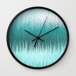 Glacial feeling Wall Clock