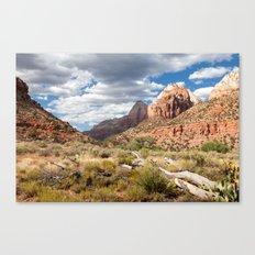 Zion National Park at Dusk Canvas Print