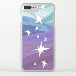 Starfall Clear iPhone Case