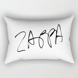 Frank Zappa -  Music - rock, pop, jazz, jazz fusion, orchestral Rectangular Pillow
