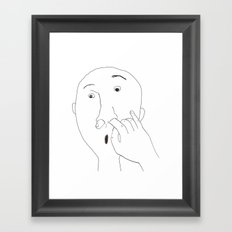 pick Framed Art Print