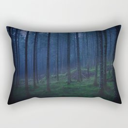 A Dark Forest in Norway Rectangular Pillow