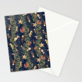 Sea Jungle Stationery Cards