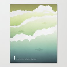 Close Encounter of the First Kind - Observation Canvas Print