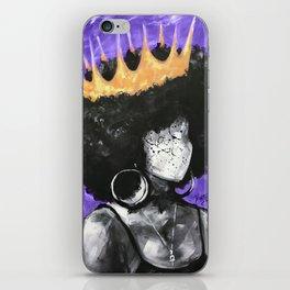 Naturally Queen II PURPLE iPhone Skin