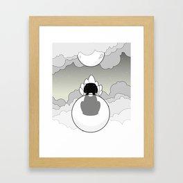 Sky Beast Framed Art Print