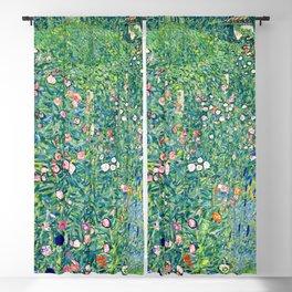 Gustav Klimt Summer Garden  Blackout Curtain