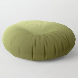 Yellow Olive Green Backgrund Floor Pillow