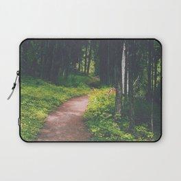 Bowman Lake Path Laptop Sleeve