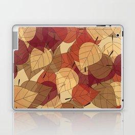 Fallen Leaves Large Laptop & iPad Skin