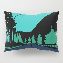 Highway at Night Pillow Sham