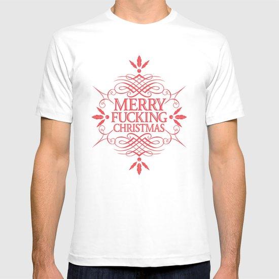 Merry Effin Christmas T-shirt