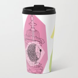 Fishy in Cage Travel Mug