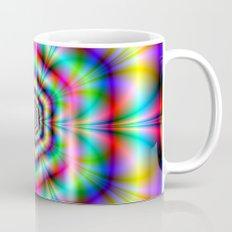 Psychedelic Hexagon Rings Mug