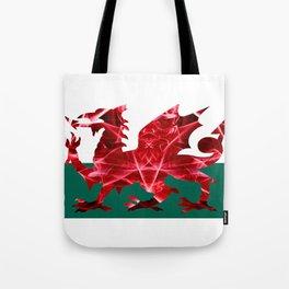 The Welsh Smoke Dragon Tote Bag