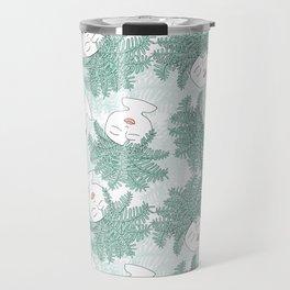 Fern-tastic Girls in Sage Green Travel Mug