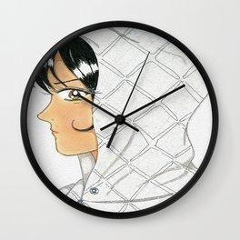 Omaja Decks a Hoodie Wall Clock