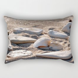 Shelves in the sand Rectangular Pillow