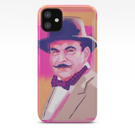 Hercule Poirot iPhone Case