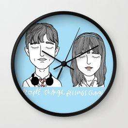 T & S Wall Clock