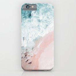 Ocean Pink Swirl iPhone Case