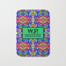 WP - Widespread Panic - Psychedelic Pattern 2 Bath Mat