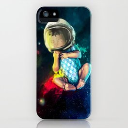 Baby Astronaut iPhone Case