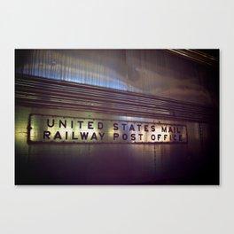 Mail Railway Canvas Print