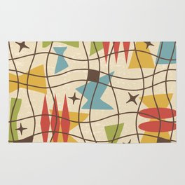 Mid Century Modern Abstract Pattern 571 Rug