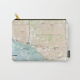 Big Cypress National Preserve Map (2011) Florida Forest Reserve Atlas Carry-All Pouch