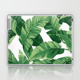 Tropical banana leaves IV Laptop & iPad Skin