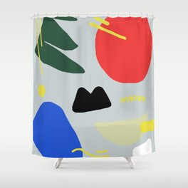 Primary Chunker Shower Curtain