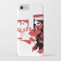 poland iPhone & iPod Cases featuring Poland by viva la revolucion