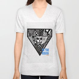Diamond In The Rough Unisex V-Neck