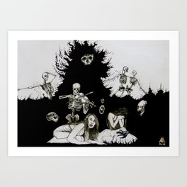 Quod Sumus Hoc Eritis Art Print