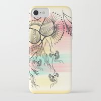 decorative iPhone & iPod Cases featuring Decorative Floral by famenxt