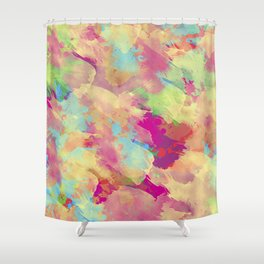 Abstract 40 Shower Curtain