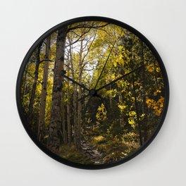 Colorado Fall Wall Clock