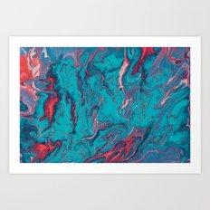 Topographie concepteur 2 Art Print