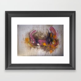 Pinkpurple Playstation Catrabbit - Gamepad Series Framed Art Print