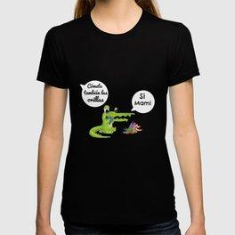 Bebé cocodrilo T-shirt