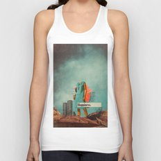 Happiness Here Unisex Tank Top