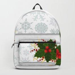 Christmas banners Backpack